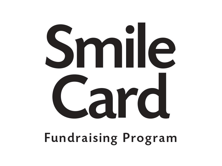smile card fundraising program logo