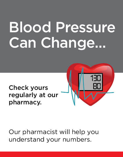 Blood Pressure Can Change