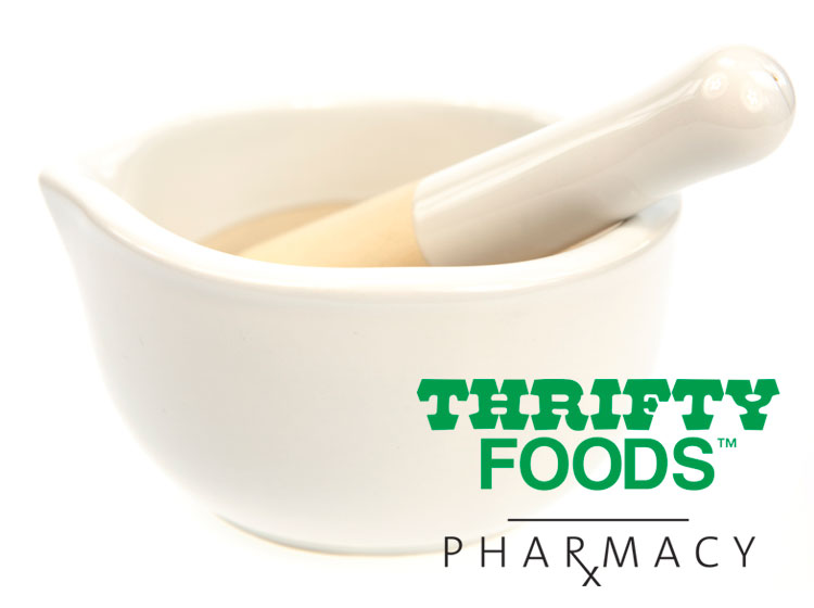 Thrifty Foods Pharmacy Logo