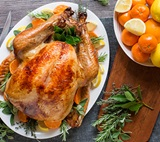 Citrus & Herb Brined Turkey