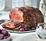 Salt-Crusted Sterling Silver® Prime Rib Roast