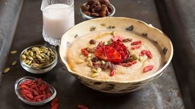 Amaranth and Coconut Porridge