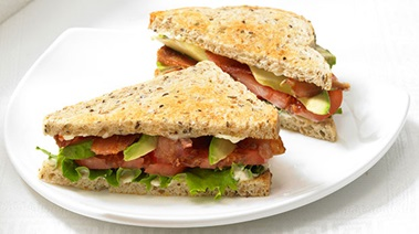 Beefsteak Tomato, Avocado and Bacon Sandwiches