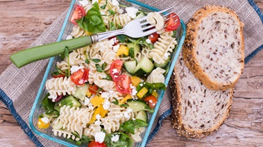 BC Sourdough Pasta and Vegetable Salad