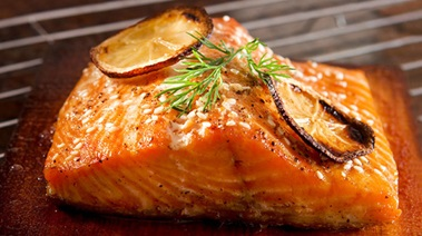 Cedar Plank Sockeye Salmon with Citrus and Pepper