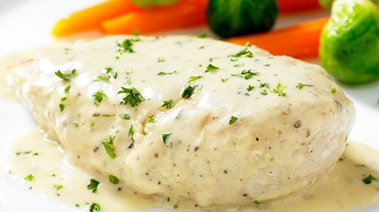 Chicken in Mustard Sauce