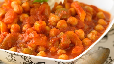 Chickpea Stew with Apricots and Lemon