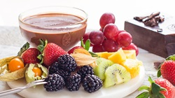 Chocolate Fondue for Two