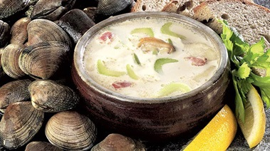 Clam Chowder the Traditional Way