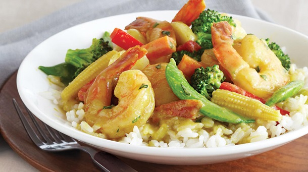 Coconut-Shrimp Curry