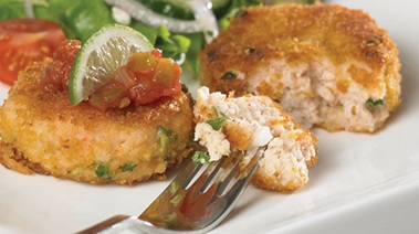 Corn-crusted Shrimp Cakes