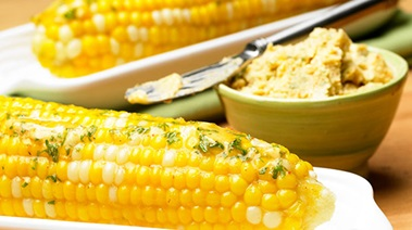 Corn on the Cob with Cumin Citrus Butter
