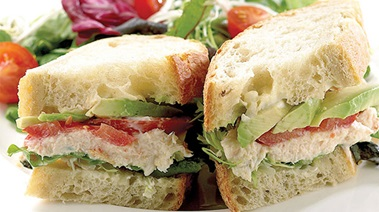 Crab and Avocado Sandwiches
