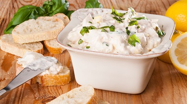 Creamy Tuna and Artichoke Spread with Lemon and Basil