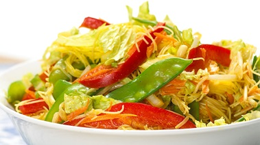 Curried Noodle Salad with Crunchy Vegetables