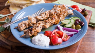 Easy Pork Souvlaki