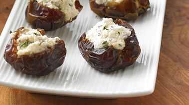 Feta-stuffed Dates