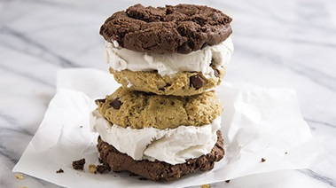 Gluten-and Dairy-free Frozen Dessert Sandwiches
