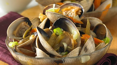 Hot and Sour Clams