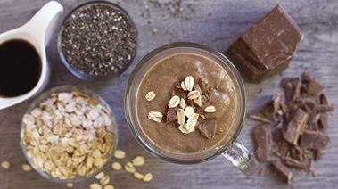 Hot Mocha Oaty Smoothie
