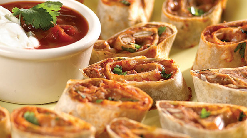 Hot Tortilla Pinwheels