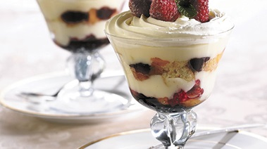 Individual Fruit Trifle