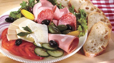 Italian Meat & Cheese Lovers Plate