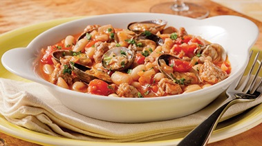 Italian-style Clam and Bean Stew