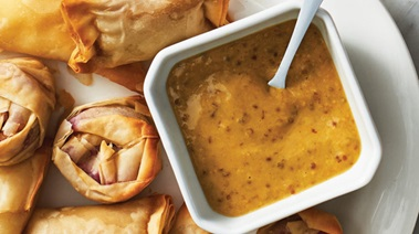 Maple Mustard Dipping Sauce