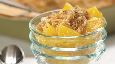 Pineapple Coconut Crisp