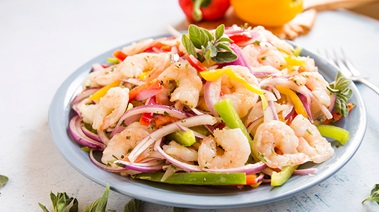 Prawn Pepper Salad