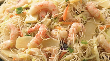 Quick Rice Noodle Salad