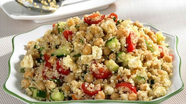 Quinoa and Chickpea Salad