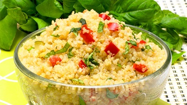 Quinoa and Mixed Vegetable Pilaf