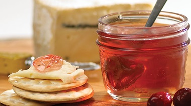 Sparkling Cranberry Apple Jelly