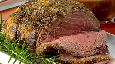 Top Sirloin Roast with Hunter Sauce