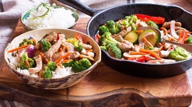 Thai Chili Pork Stir Fry