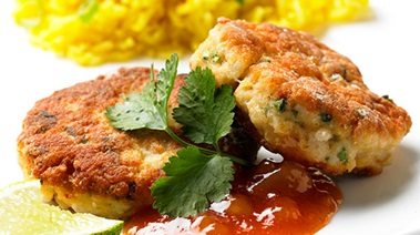 Thai-style Snapper and Shrimp Cakes