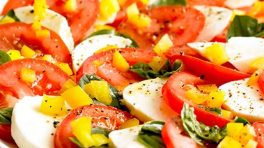 Tomato and Mozzarina Salad
