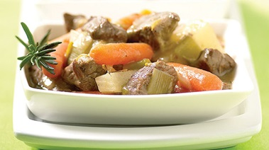 Traditional Beef and Spring Vegetable Stew