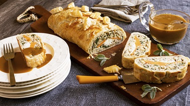 Vegetable Brown Rice Wellington