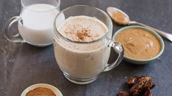 Warm Coconut Almond Butter Smoothie